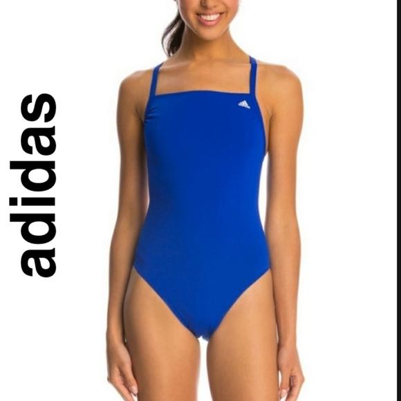 Adidas Women's Infinitex Solid+C Back  Swimsuit